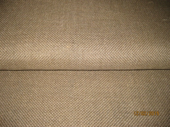1 Yard Unbleached Linen Rug Foundation Fabric By