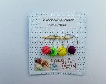 "Stitch marker ""macaron"""