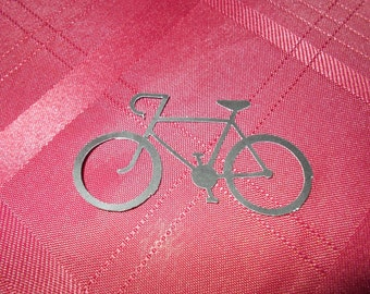 25 Bicycle Cardstock Scrapbooking Cutout Embellishments!