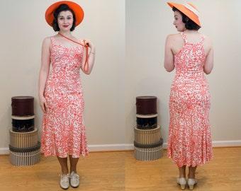 1930s Style Dress - Designer Diane von Furstenberg Bias Cut Silk Gown - Classic Pattern and Cut