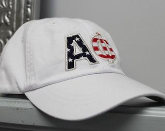 Sorority American Flag Hat