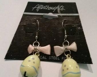 Easter Egg Earring Earrings Dangle Spring Costume Jewelry
