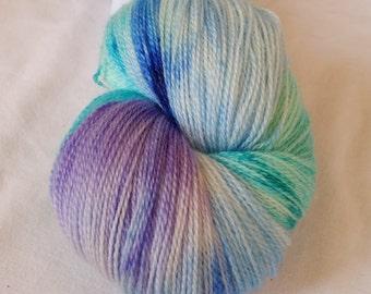 Sea Breezes SW merino, bamboo Lace Weight Yarn
