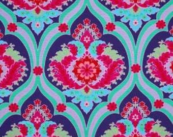 29 inches Jennifer Paganelli Crazy Love Priscilla in Purple OOP Free Spirit  Fabric GORGEOUS