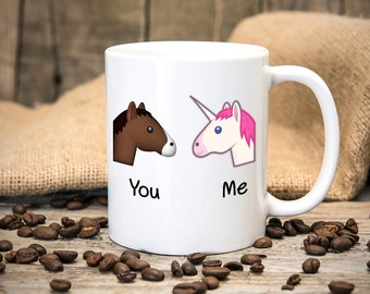 Unicorn You and Me - Fun Mug - Great gift for birthdays - Tea mug - Coffee mug - Printed mug - Funny Mug