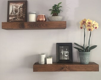 Floating Shelves - Modern Shelf - Shelving - Shelf - Wall Shelves - Rustic Home Decor - Chunky Shelves - Shelves - Bathroom Shelf