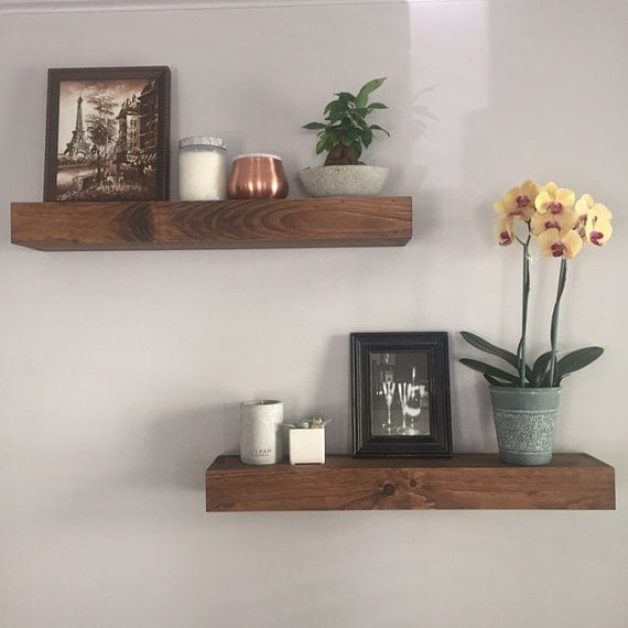 Floating Shelves Modern Shelf Shelving Shelf Wall