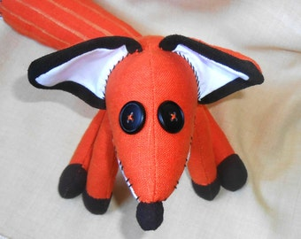 Fox Little Prince Fox Le Petit Prince Fox animal plush fox toy Fox Gift for kids Christmas gift