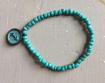 Turquoise Sagittarius Bracelet