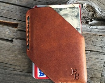 Card & Cash Holster English Tan