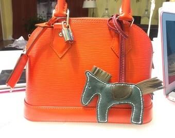 Designer Horse Bag Charm