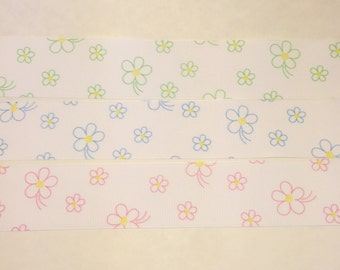Flower Ribbon Combo ~ Approx 6+ yards