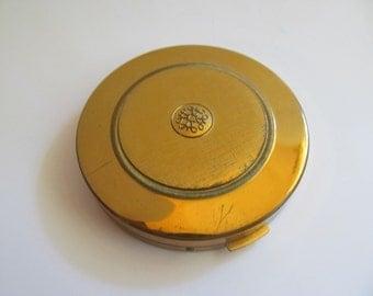 Vintage Avon Compact  face pwder  Brass case
