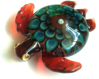 Dot Stack Turtle Pendy