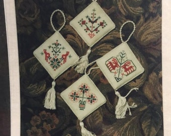 Sampler Ornaments 9 by Handwork Samplers