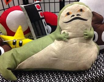 Jabba the Hutt, Star Wars inspired, Geeky felt stuffed plush toy