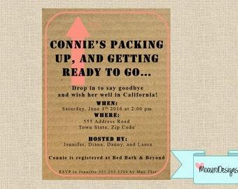 Moving Invitation