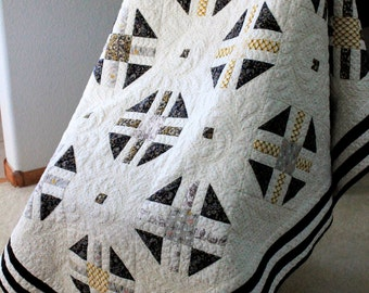 Under the Tuscan sun: A modern lap quilt