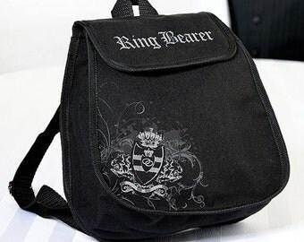 Ring Bearer Backpack Keepsake Gift For Ring Bearer Wedding Gift For The Ring Bearer