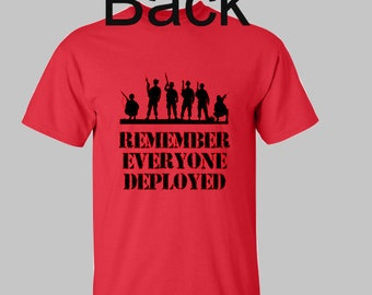 R.E.D Shirt (Remember Everyone Deployed)