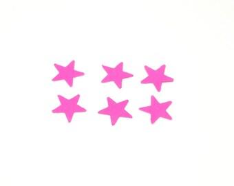Star confetti, confetti, wedding confetti, birthday confetti, pink confetti, party confetti, pink star confetti
