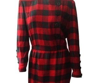 Akris Dress for Bergdorf Goodman with Headpiece (Size 10, 42)