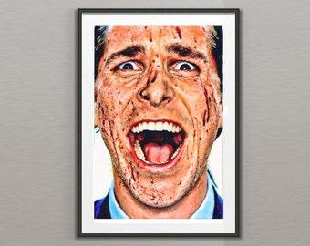 Patrick Bateman American Psycho Print