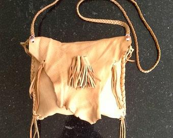Deerskin purse