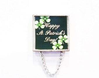 Happy St. Patrick's Day Eyeglass Holder