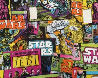 Star Wars fabric from Camelot Fabrics