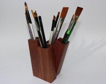Desk Caddy / Modern Design / Desk Organizer / Handcrafted Office Organizer / Desk Storage by Recovered Design