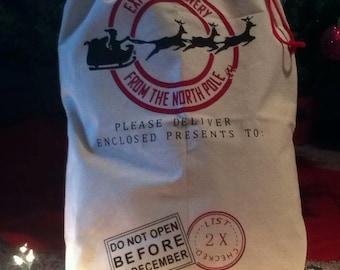 Personalized Santa Sack***FREE Shipping***