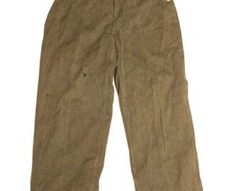 1950's  swiss army denim work pants