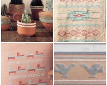 Indian Southwest Cross Stitch Patterns - Sixteen (16)