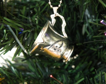 Once Upon A Time  Christmas Tree Ornament / Decoration. Chipped Tea Cup, Rumbelle