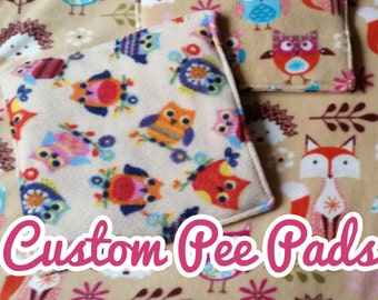 Custom Pee Pads - Ideal for Guinea Pigs