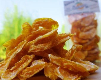 Dried Satsuma Segments, 200g - All Natural Healthy Fruit Snacks - Grown, Picked & Dried By Us!