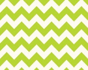 Chevron Dreamy in Lime from Riley Blake Fabrics