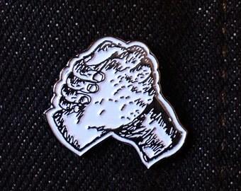 """Hand in Hand 1"""" enamel pin"""