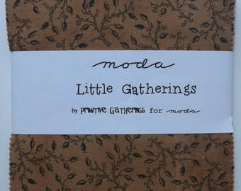 Little Gatherings charm pack, by Primitive Gatherings for Moda.