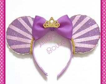Rapunzel inspired mouse ears | Free UK shipping