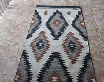 "Navajo Style Rug 31"" x 72"""