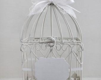 Bird Cage Card Holder. Wedding Card Holder. Small.