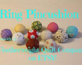 Pincushion - Ring/Needle Park - Needlecraft