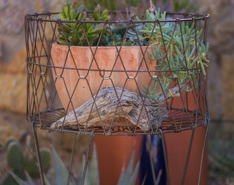 Vintage Wire Basket, Allied Collapsible