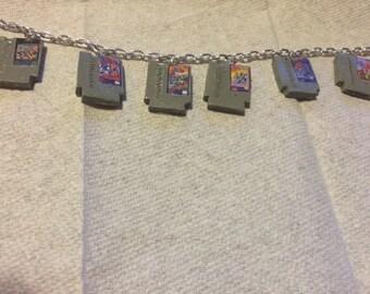 NES charm bracelet Mega Man bracelet! Mega Man 1, Mega Man 2, Mega Man 3, Mega Man 4, Megaman 5 and Mega Man 6