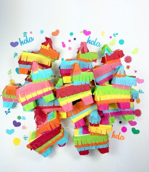 Mexican Wedding Favors Ideas: Mini Piñatas Fiesta Weddings Mexican Party Favors By LulaFlora
