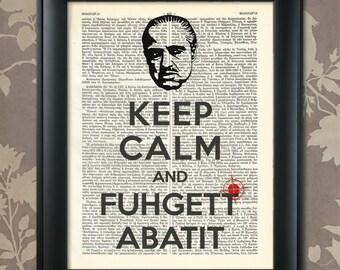 Mafia Humorous Print, Mafia Print, Mafia Poster, Mafia Humor, Mafia art, Mafia wall art, Mafia Decor, The Godfather, Italian American
