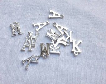 Add an initial, personalise an order, add a letter, letter charm
