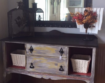 For KRefinished Dining Room Table Chairs Buffet Hutch